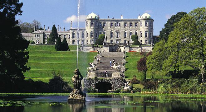 Powerscourt Estate in County Wicklow