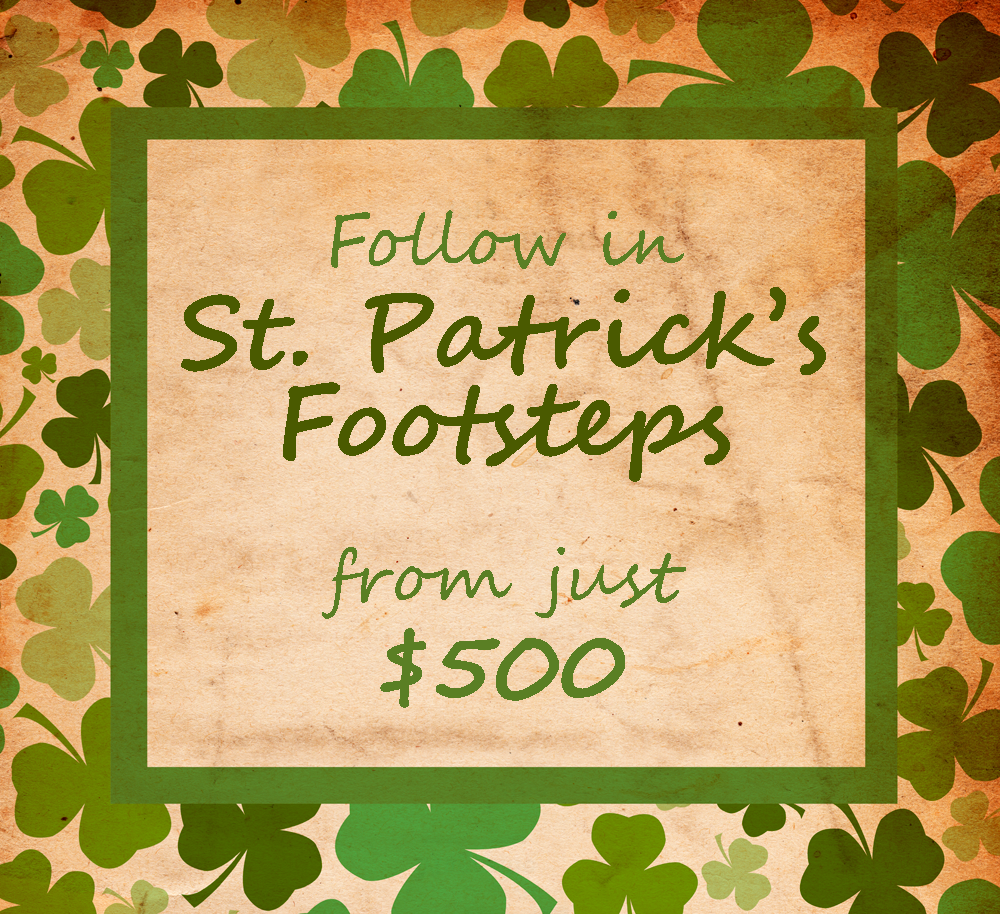 St Patricks Footsteps