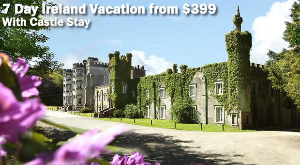 Ireland Vacation Deal: Stay in an Authntic Irish Castle