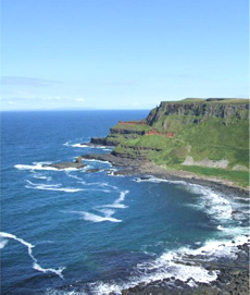 Antrim coastline, Northern Ireland on your trip to Ireland