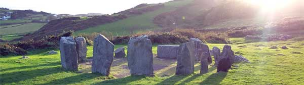Drombeg Stone Circle, Glandore, West Cork, Ireland