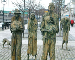 Visit the Famine Memorial, Dublin on your Ireland Travel