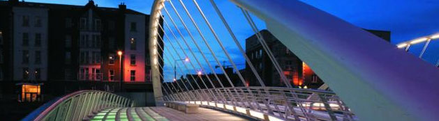 The James Joyce Bridge, Dublin